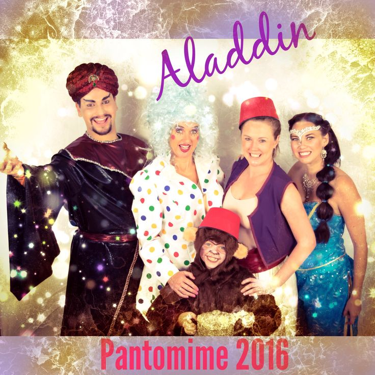 Aladdin Pantomime 2016