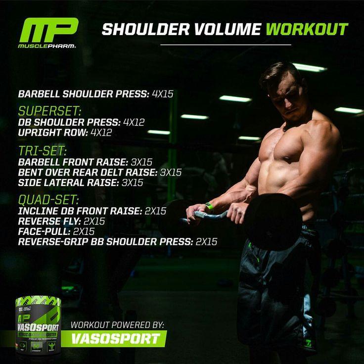 MP Shoulder Volume Workout