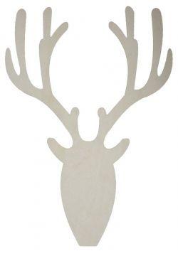 Bloomingville / Závěsná dekorace Deer natural