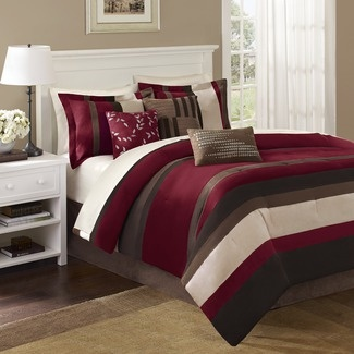 I really want to paint my bedroom walls this color wine....