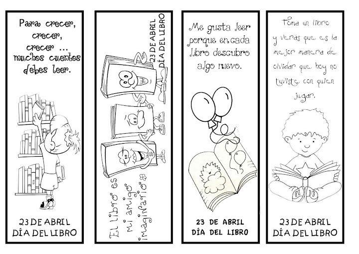 Cómo hacer un marcapáginas para el día del libro