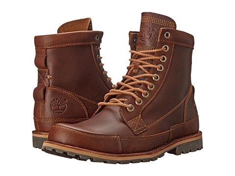 "Timberland Earthkeepers® Rugged Original Leather 6"" Boot Tobacco Forty Leather - Zappos.com Free Shipping BOTH Ways"