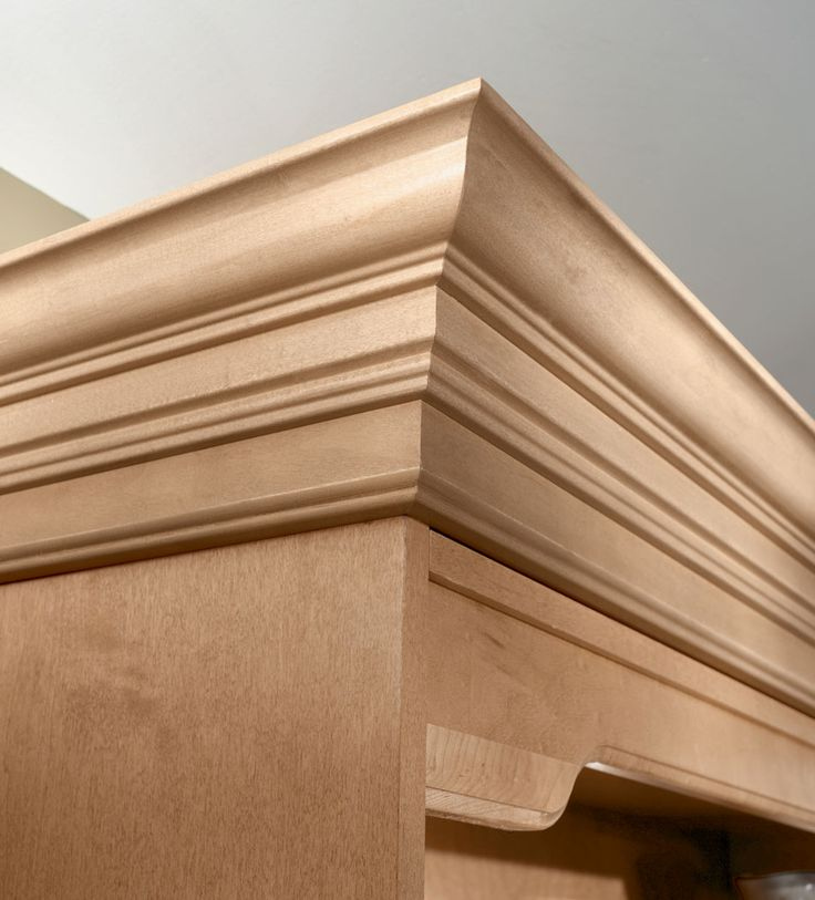 Moldings And Accents At Kraftmaid Com: Crown Molding For Kitchen