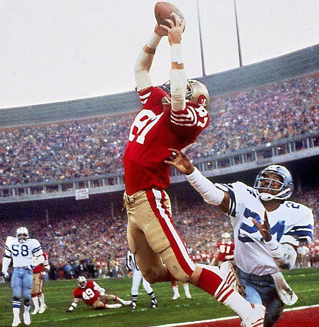 """The Catch"" - Dwight Clark, San Francisco 49ers"