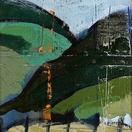 Landscape oil painting 15-104