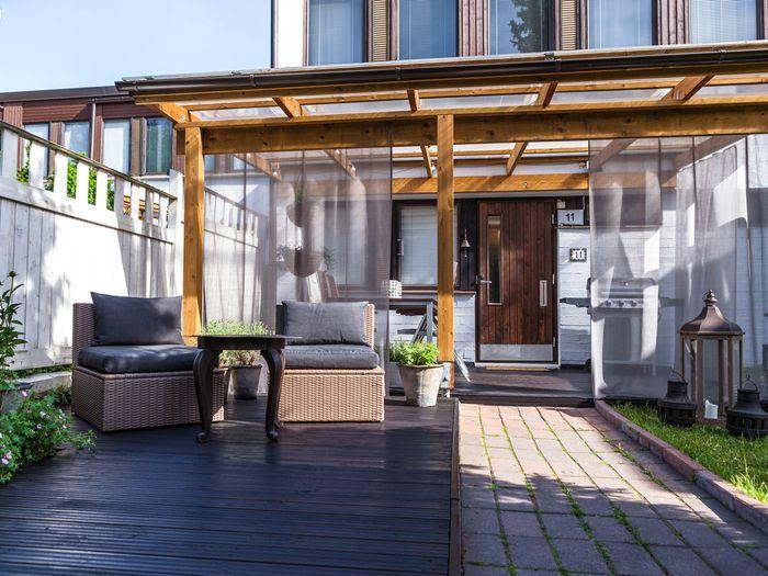 Zainspiruj się: patio z zadaszeniem