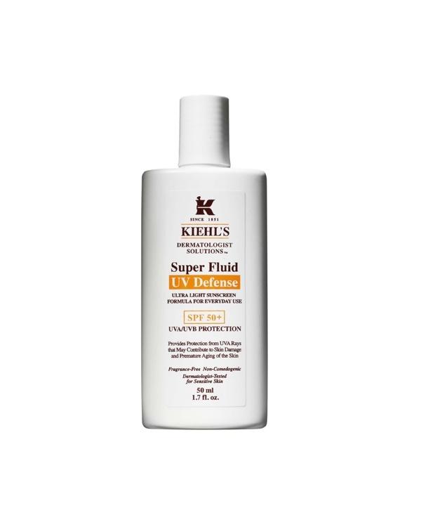 Kiehl's Dermatologist Solutions Super Fluid UV Defense SPF50+ @GLAMOUR South Africa