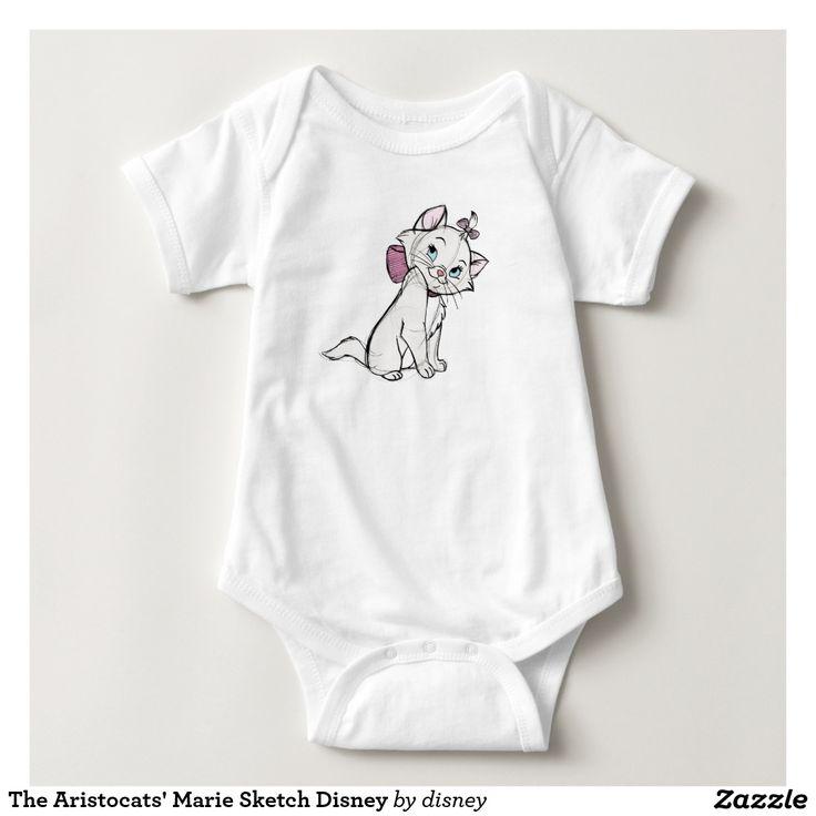 El bosquejo Disney de Marie del Aristocats. Regalos, Gifts. #camiseta #tshirt