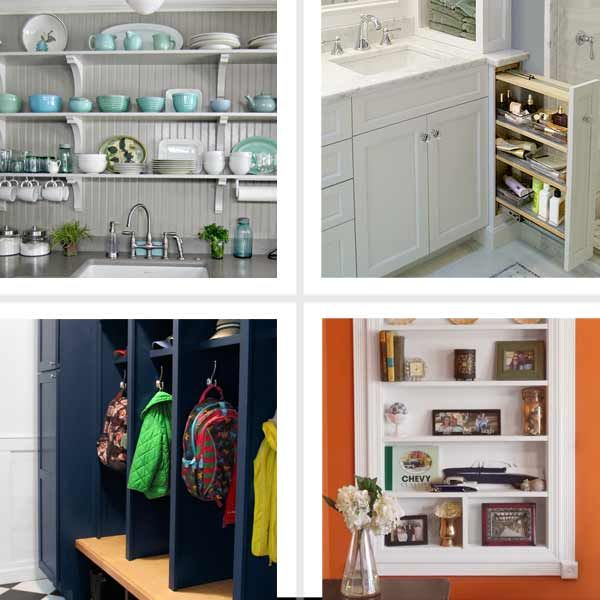 70 best images about 1914 colonial home on pinterest kitchens built ins and historic homes - Kitchen storage ideas for small spaces ...