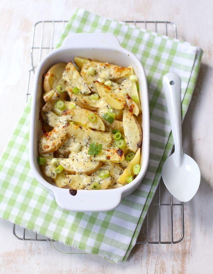 Romige aardappeltjes uit de oven