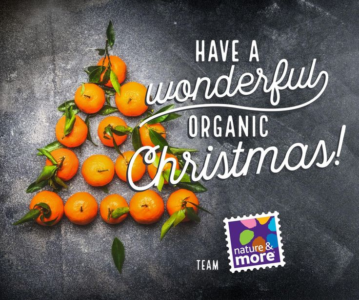 #organic #natureandmore #Christmas #eosta