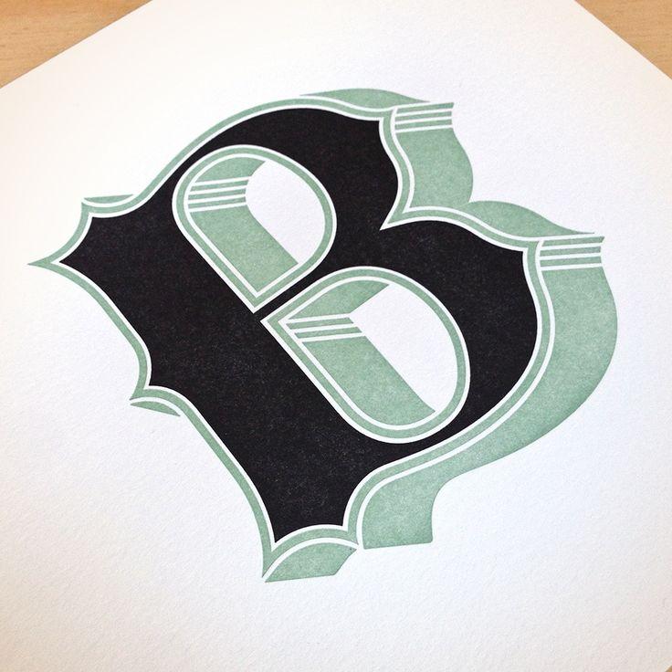 Jessica Hische — Drop Cap Letterpress Prints
