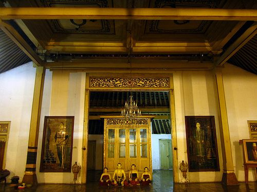 Dalem Sasono Mulyo Kasunanan Surakarta ('Dalem', the Main Part of the Javanese House, Sasono Mulyo Royal House) - (Explored, April 27, 2012) -- (Vote Surakarta for New7Wonders Cities SEA Region)