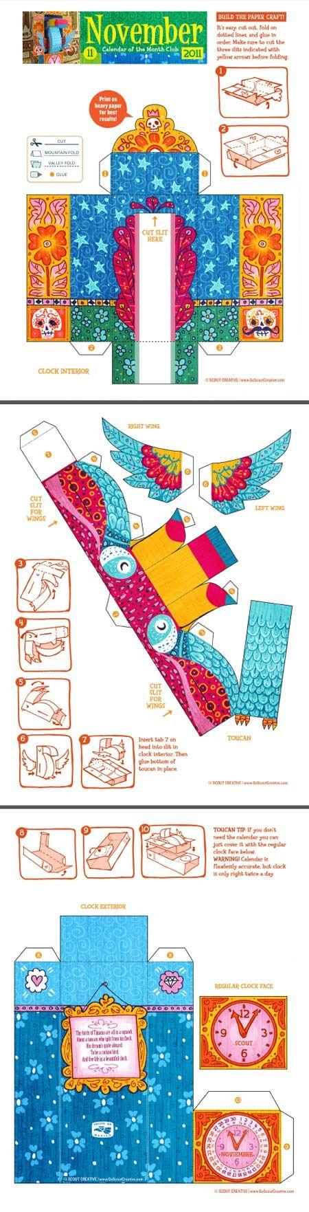 Berühmt 133 best paper toys & imprimer images on Pinterest | Paper toys  ZQ77