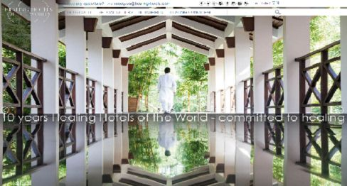 We like this and think that its time has come. Healing Hotels of the World is the only global brand that has established and successfully implemented authentic and quality driven criteria for the environment and delivery of holistic health and well-being services. In other words - you will know these hotels are good for your next healing vacation!     http://healinghotelsoftheworld.com/