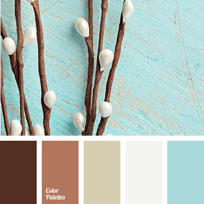 Pale blue and pussy willow. [starts to sing] These are a few of my FAVorite things!
