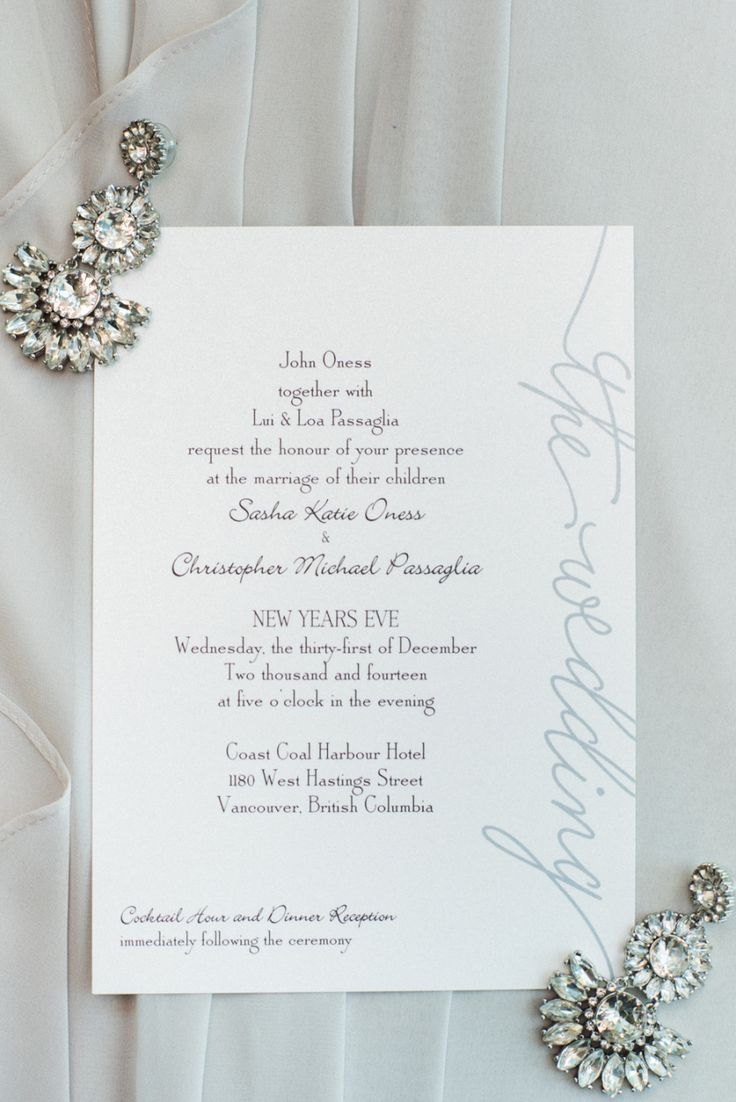 31 best New Years Eve Wedding - Invitations images on Pinterest ...