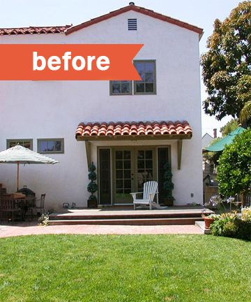 before and after garden makeovers