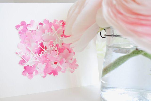 Blütenzauber in Aquarell…. ich hab´s nicht erfunden