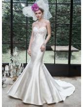 Maggie Sottero Herz-neck Brautkleider für Mollige - Style Betty 5MS619