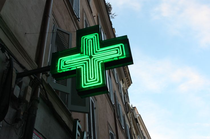 #Cross #Pharmacy #RioneMonti, #Rome.