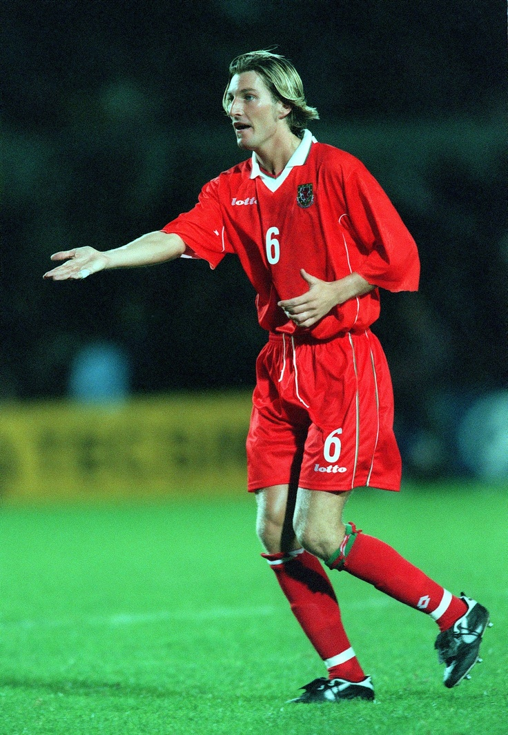 Former Wales International Robbie Savage. He won 39 caps for his country.