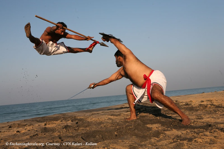 Kalaripayattu is the martial art of KERALA