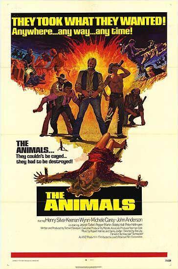 The Animals (1970) a/k/a Five Savage Men starring Henry Silva and Keenan Wynn