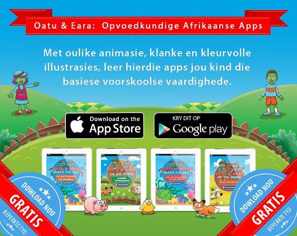 Afrikaanse apps vir kleuters