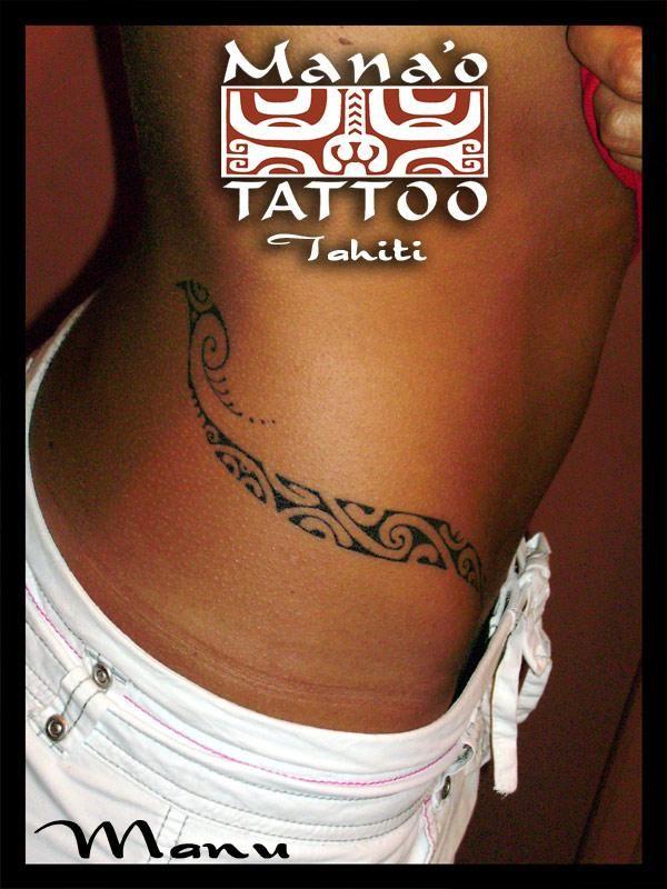 Polynesian tattoo, waist #polynesian #tattoo