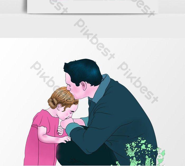 30 Gambar Kartun Anak Cium Tangan Ibu Ayah Cat Lukisan Tangan Mencium Anak Perempuan Ilustrasi Download Ibu Mencium Anak Gambar Unduh G Di 2020 Kartun Gambar Anak