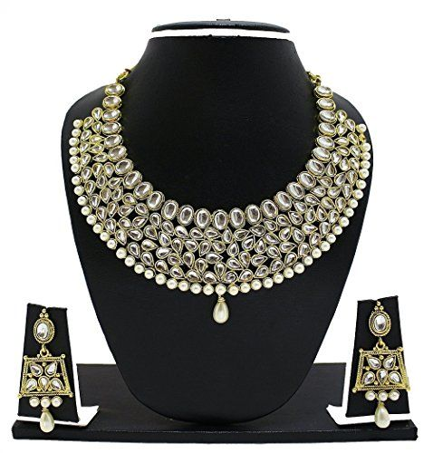 Latest Indian Bollywood Gold Plated White Stone Wedding W... https://www.amazon.com/dp/B01NAU5VU8/ref=cm_sw_r_pi_dp_x_bHDHybV46Q64S