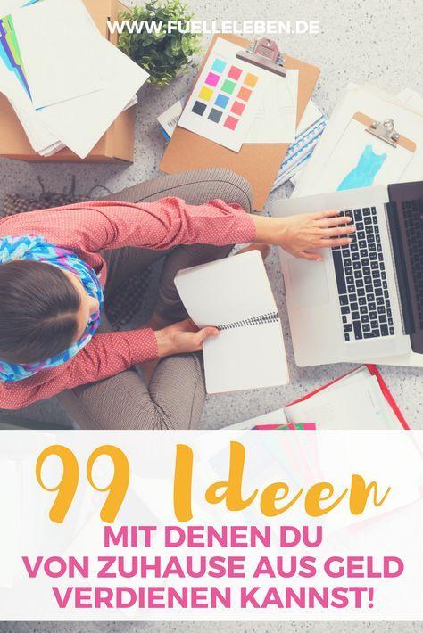 99 ideen mit denen du von zuhause aus geld verdienen und. Black Bedroom Furniture Sets. Home Design Ideas