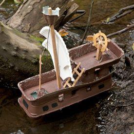 VOC schip bouwen