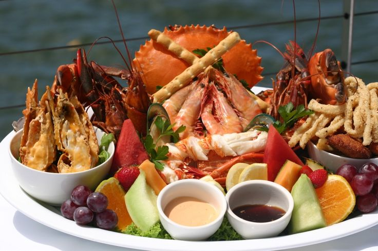 Dundee's Seafood Platter