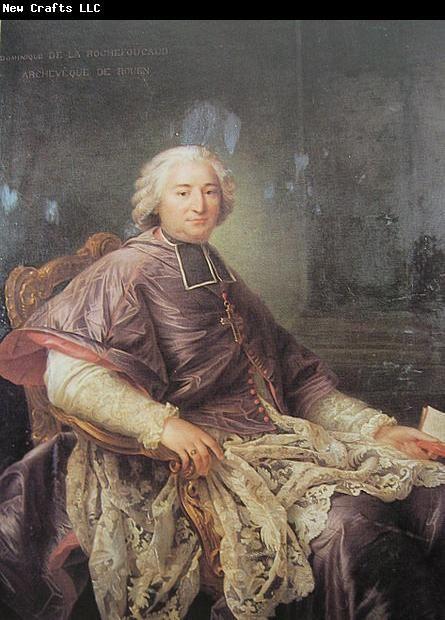 Francois-Hubert Drouais Portrait of Cardinal de la Rochefoucauld