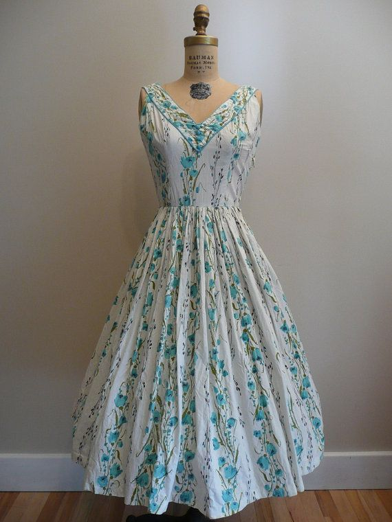 The Glamorous Housewife: Vintage Fashion: Summer Dresses ...