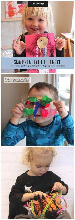 Kreative #idéer til #gaver de mindste børn selv kan lave...af ...