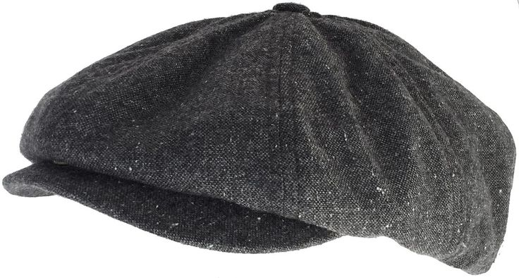 "Mossant ""Graig"" Wool Tweed Gatsby Hat 8/4 Apple Jack Newsboy"