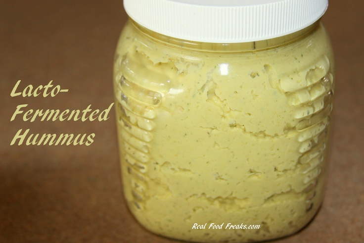 Fermented Curry Hummus
