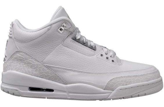 c5f072f58e3 Air Jordan 3 Triple White Set To Debut This Summer Release Date  July 21