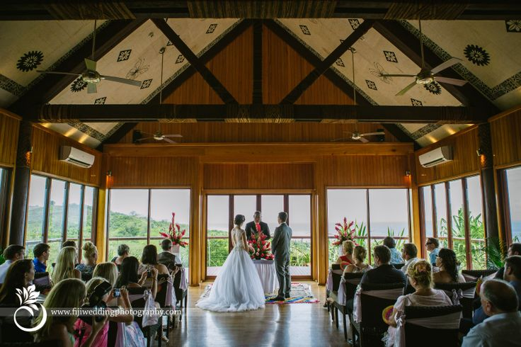 Nadi Bay Photography - By Laurence Beddoes. A Fiji Wedding. Chapel ceremony at the Outrigger on the Lagoon Resort.