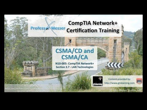 Understanding CSMA/CD and CSMA/CA - CompTIA Network+ N10-005: 3.7 - YouTube ITN 5.1.1.3