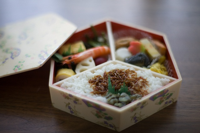 Japanese lunch box -bento-: photo by minato, via Flickr