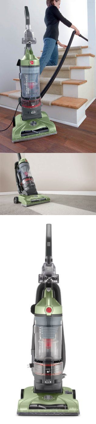 Hoover WindTunnel T-Series Rewind Plus Bagless Upright, UH70120 Cool gadgets for home office | best upright vacuum for hardwood floors.