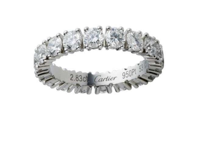 Fedi Damiani, Tiffany e Cartier - Fedi di lusso Damiani, Tiffany e Cartier
