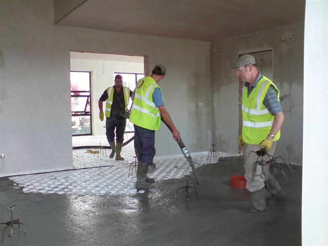 Carrick an Suir floorscreed - Ready Mix Concrete and Easy flow concrete Suppliers, Precast Concrete - Doyle Concrete http://www.doyleconcrete.ie/work/detail/carrick-an-suir-floorscreed/