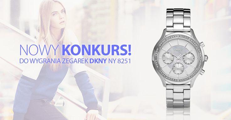 Zegarek w Twoim stylu! ⌚ WYGRAJ DKNY NY 8251 💛