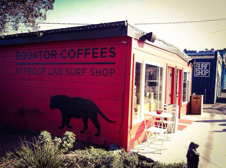 Equator Coffee At Proof Lab Surf Shop | #VSCOcam