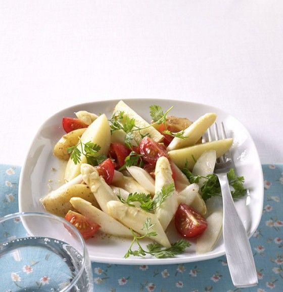 Ein Vanille-Dressing macht diesen Salat besonders aufregend – unbedingt probieren.